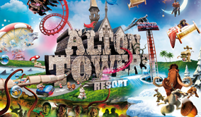 Alton Towers Resort Coach Trips from Scotland